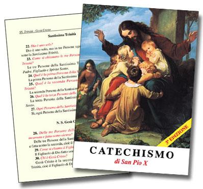 Risultati immagini per catechismo san Pio X